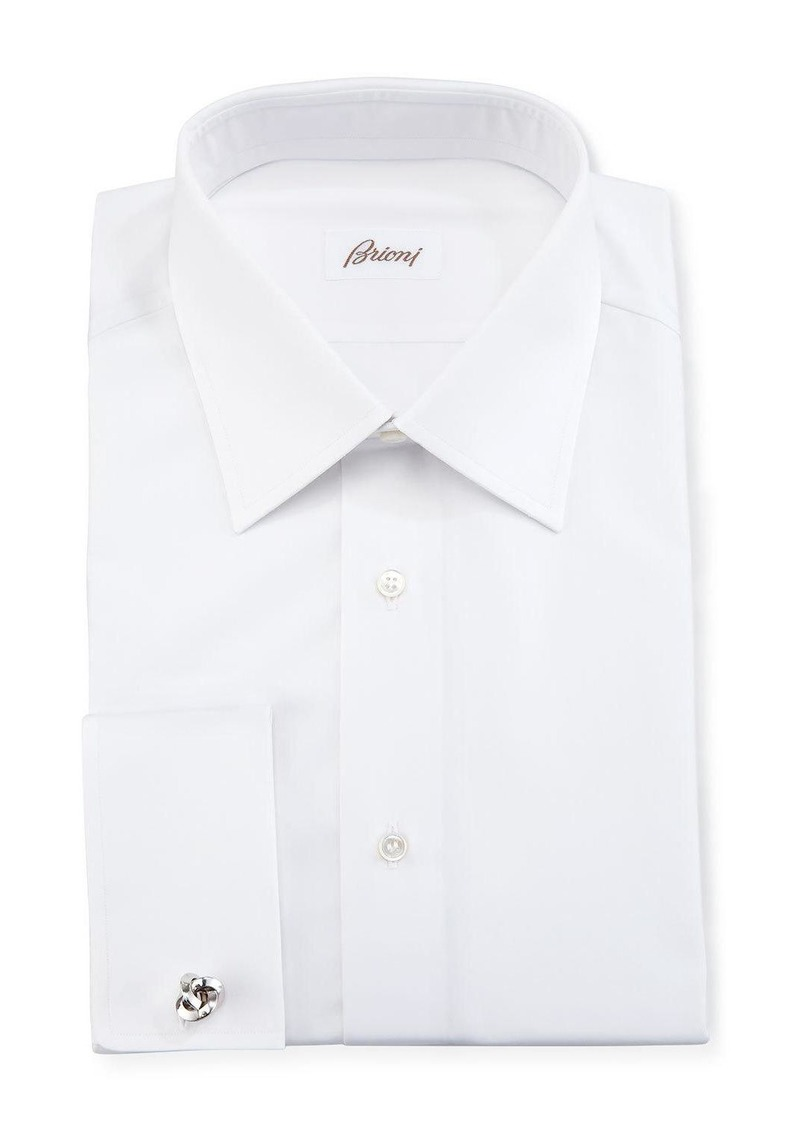 Brioni Wardrobe Essential French-Cuff Dress Shirt