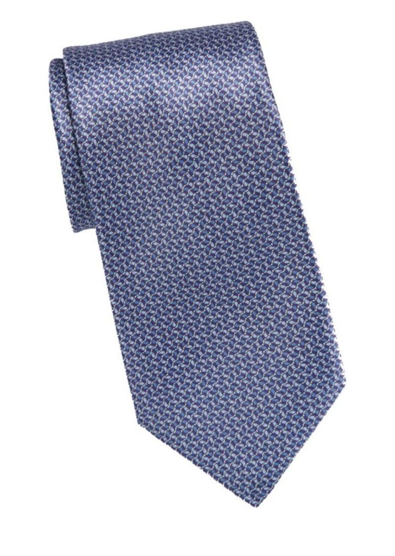 Brioni Wave Print Tie