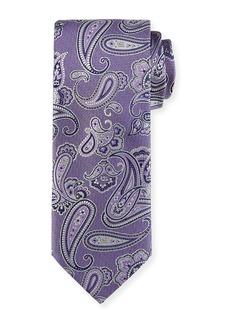 Brioni Woven Paisley Silk Tie