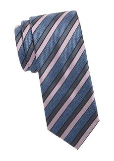 Brioni Woven Stripe Silk Tie