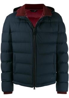 Brioni zipped padded jacket