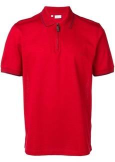Brioni zipped placket polo shirt