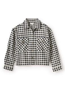 Brixton Bowery Organic Cotton Flannel Shirt Jacket