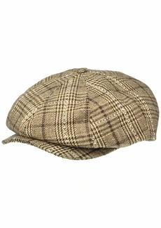 Brixton Men's Brood Newsboy SNAP HAT  L