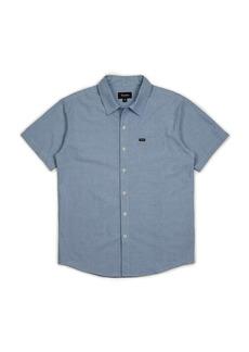 Brixton Men's Charter Oxford SS Shirt