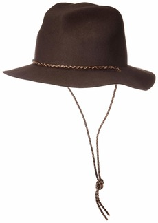 Brixton Men's Freeport Medium Brim Fedora HAT  XL