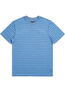 Brixton Men's Hilt Mini Stripe SS Knit Top