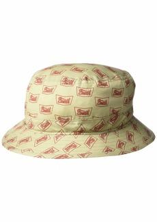 Brixton Men's Stith Short Brim Bucket HAT  S
