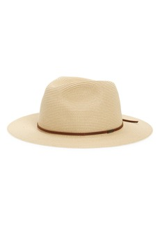 Brixton Wesley Packable Straw Fedora