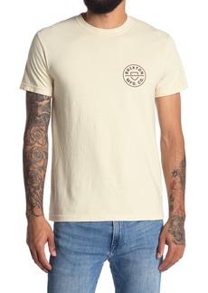 Men's Brixton Crest Logo Graphic Tee