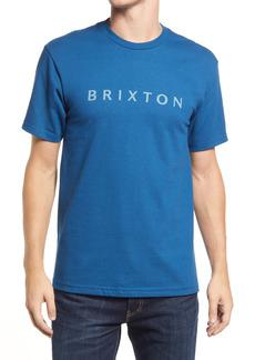 Men's Brixton Men's Alpha Line Graphic Tee