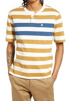 Men's Brixton Men's Stripe Henley T-Shirt