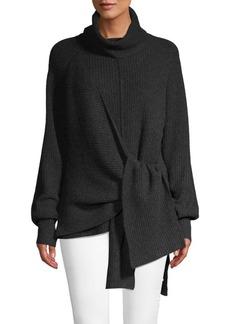 Brochu Walker Bree Tie-Front Sweater