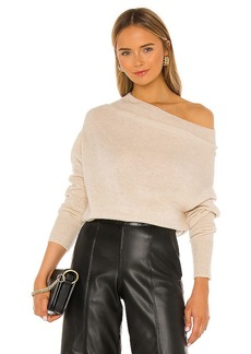 Brochu Walker Lori Off Shoulder Sweater