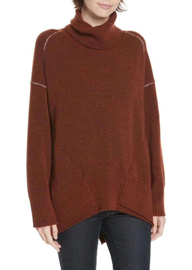 93c2ae9e5d282b Brochu Walker Brochu Walker Seam Detail Cashmere Blend Sweater ...