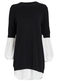 Brochu Walker Ebella Layered Sweater Mini Dress