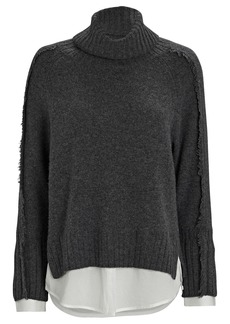 Brochu Walker Jolie Layered Looker Turtleneck Sweater