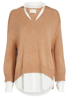 Brochu Walker Looker Layered V-Neck Sweater