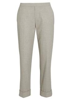 Brochu Walker Westport Cropped Straight-Leg Pants