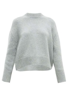 Brock Collection Cropped round-neck cashmere sweater