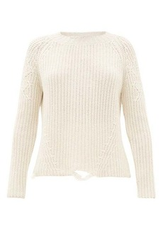 Brock Collection Deconstructed cashmere and silk sweater