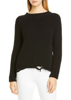Brock Collection Destroyed Cashmere & Silk Sweater