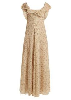 Brock Collection Dora floral-print tulle dress