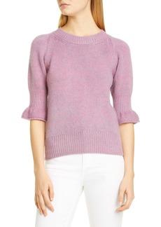 Brock Collection Flounce Cuff Cashmere Sweater