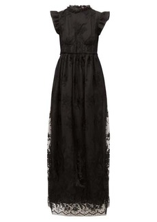 Brock Collection Patricia ruffled guipure-lace dress
