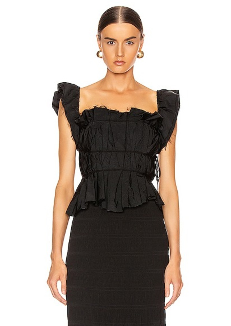 Brock Collection Pioppo Ruffle Top