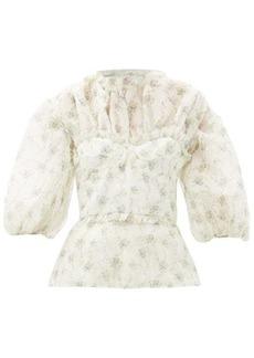 Brock Collection Ramage floral-print silk blouse