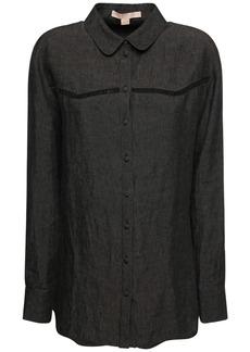 Brock Collection Cotton & Linen Shirt