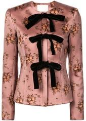 Brock Collection floral brocade jacket