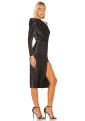 Bronx and Banco Belle One Shoulder Midi Dress