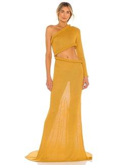 Bronx and Banco Dalia One Shoulder Knit Dress