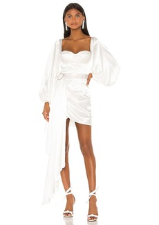 Bronx and Banco Lana Bridal Mini Dress