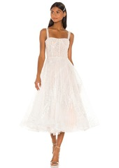 Bronx and Banco Mademoiselle Bridal Midi Dress