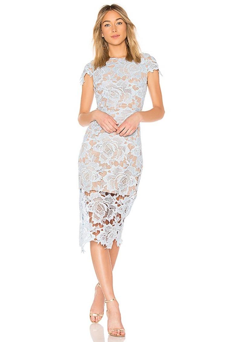 Bronx and Banco Rose Midi Dress