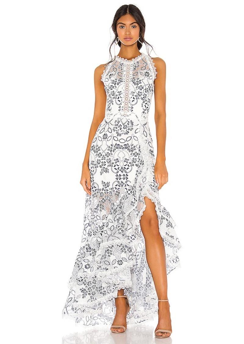 Bronx and Banco Santorini Maxi Dress