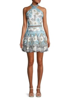 Bronx and Banco Penelope Floral Lace Dress