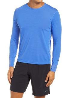 Brooks Distance Long Sleeve Performance Running T-Shirt