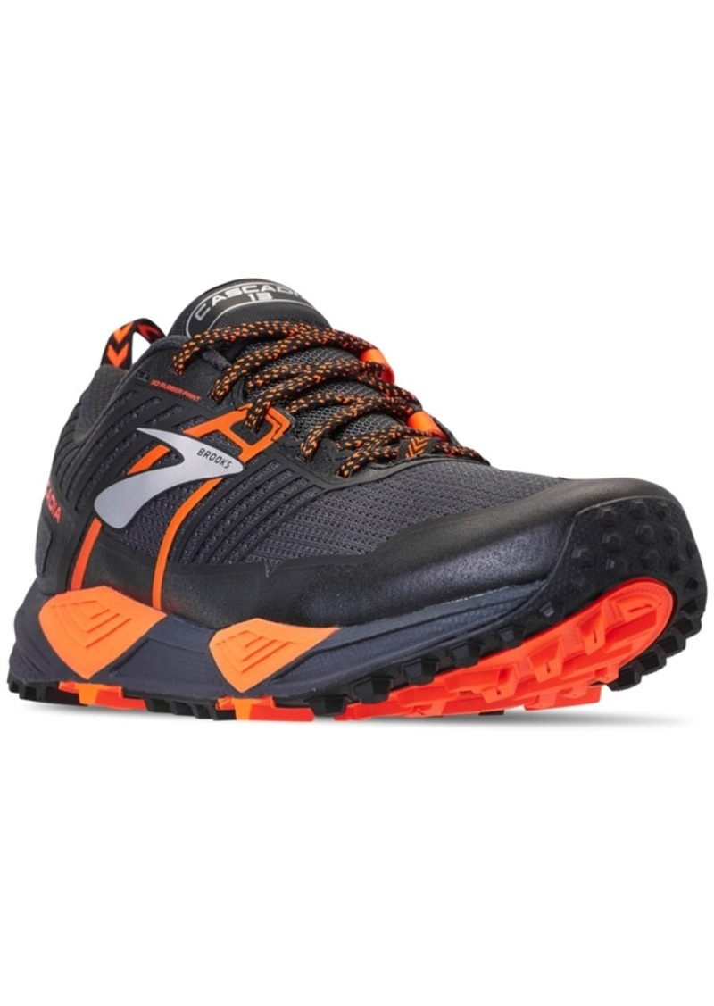 da9f44d31d7 Brooks Brooks Men s Cascadia 13 Trail Running Sneakers from Finish ...