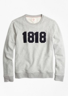 Brooks Brothers 1818 Cotton French Terry Sweatshirt