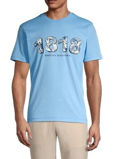 Brooks Brothers 1818 Graphic T-Shirt