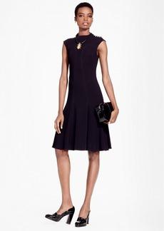 Brooks Brothers A-Line Flounce Dress