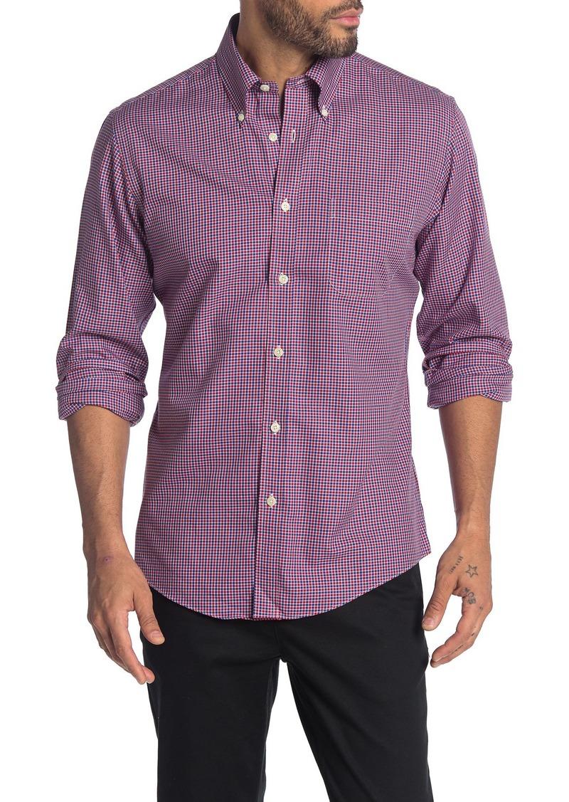 Brooks Brothers Alt Checks Long Sleeve Regent Fit Shirt