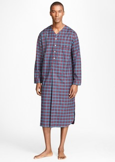 Brooks Brothers Alternating Plaid Nightshirt