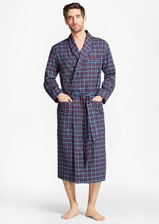 Brooks Brothers Alternating Plaid Robe