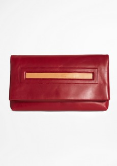 Brooks Brothers Berinthia Foldover Clutch