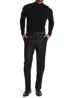 Brooks Brothers Black Plaid Wool Regent Fit Suit Separates Pants
